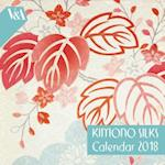 V&A Kimono Silks - mini wall calendar 2018 (Art Calendar)