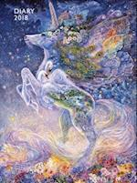 Josephine Wall - Soul of a Unicorn Pocket Diary 2018