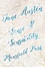 Jane Austen Deluxe Edition (Sense & Sensibility; Mansfield Park) (Romantic Fantasy)