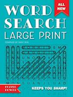 Word Search Large Print (Word Puzzlers)