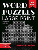 Word Puzzles Large Print (Word Puzzlers)