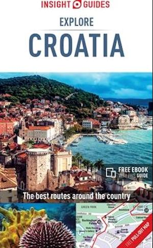 Bog, paperback Insight Guides: Explore Croatia af Insight Guides
