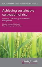 Achieving Sustainable Cultivation of Rice Volume 2 (Burleigh Dodds Series in Agricultural Science, nr. 4)