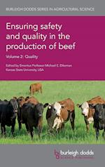 Ensuring Safety and Quality in the Production of Beef (Burleigh Dodds Series in Agricultural Science, nr. 2)