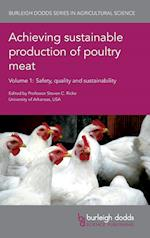 Achieving Sustainable Production of Poultry Meat (Burleigh Dodds Series in Agricultural Science, nr. 13)