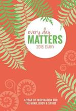 Every Day Matters Desk 2018 Diary / Planner / Scheduler / Organizer