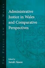 Administrative Justice in Wales and Comparative Perspectives (The Public Law of Wales)