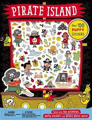 Bog, paperback Pirate Island Puffy Sticker Book af Thomas Nelson