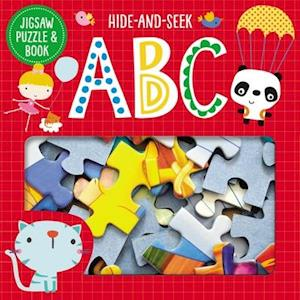 Bog, hardback Jigsaw Puzzle and Book Hide and Seek ABC Set af Thomas Nelson