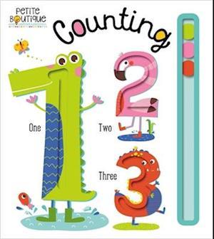 Bog, ukendt format Petite Boutique Counting af Thomas Nelson