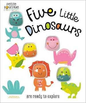 Bog, ukendt format Petite Boutique Five Little Dinosaurs af Thomas Nelson