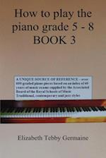 How to Play the Piano Grade 5 - 8 Book 3 af Elizabeth Tebby Germaine