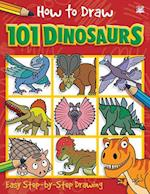 How to Draw 101 Dinosaurs (How to Draw 101)