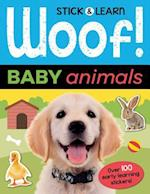 Woof! Baby Animals (Stick Learn)