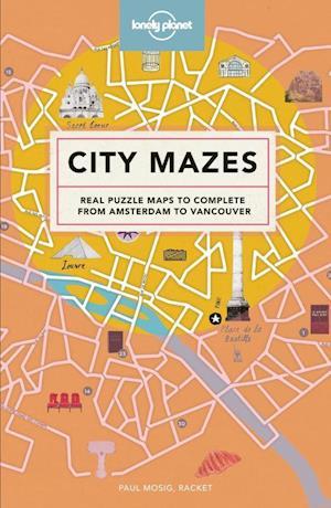 Bog, hardback City Mazes af Lonely Planet