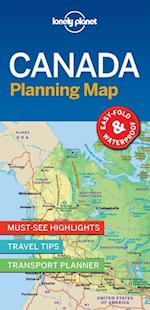 Lonely Planet Planning Map: Canada, Lonely Planet (1st ed. July 2018) (Lonely Planet Planning Maps)