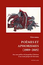 Poemes et Aphorismes (1989-2015) af Giovanna