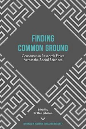Bog, hardback Finding Common Ground af Ron Iphofen