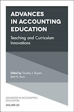 Advances in Accounting Education (Advances in Accounting Education Teaching and Curriculum In, nr. 20)