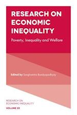 Research on Economic Inequality (Research on Economic Inequality, nr. 25)
