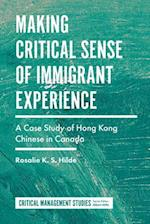 Making Critical Sense of Immigrant Experience (Critical Management Studies)