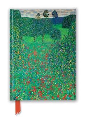 Gustav Klimt: Poppy Field (Foiled Journal)