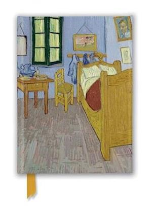 Vincent van Gogh: Bedroom at Arles (Foiled Journal)