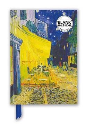 Van Gogh: Cafe Terrace (Foiled Blank Journal)