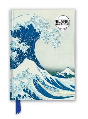 Hokusai: The Great Wave (Foiled Blank Journal)