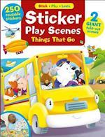 Sticker Play Scenes (Stick Play Learn, nr. 1)