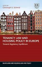 Tenancy Law and Housing Policy in Europe (Elgar Land and Housing Law and Policy Series)