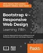 Bootstrap 4 - Responsive Web Design af Matt Lambert, Silvio Moreto, Jason Marah
