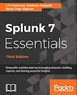 Splunk 7 Essentials, Third Edition