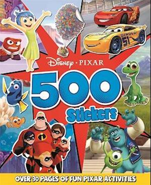 Disney Pixar Mixed: 500 Stickers