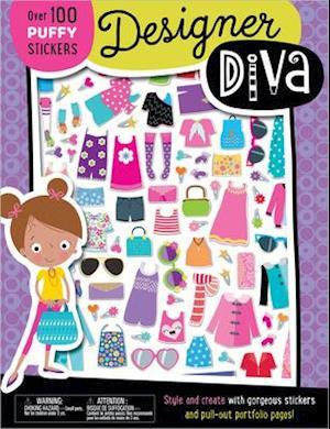 Puffy Stickers Designer Diva