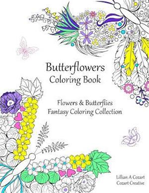 Butterflowers Coloring Book
