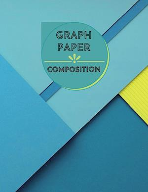 Graph Paper Composition Notebook: Large Simple Graph Paper Journal - 100 Quad Ruled 5x5 Pages 8.5 x 11 inches - Grid Paper Notebook for Math and Scien