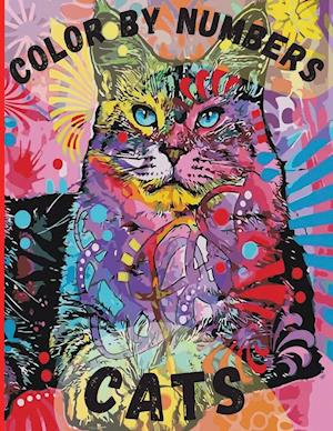 Cats Color by Numbers