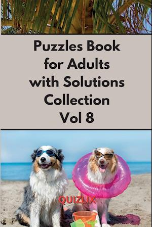Puzzles Book with Solutions Super Collection VOL 8