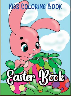 KIDS COLORING BOOK: Easter Book 1