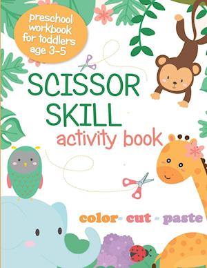 Scissor Skill Activity Book