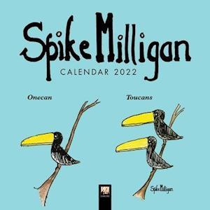 Spike Milligan Mini Wall calendar 2022 (Art Calendar)