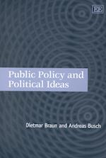 Public Policy and Political Ideas af Dietmar Braun