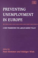 Preventing Unemployment in Europe af Paul Klemmer