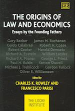 The Origins of Law and Economics af Francesco Parisi