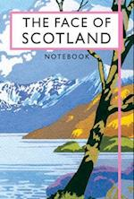 The Face of Scotland Notebook (Beautiful Britain Vintage Notebooks)