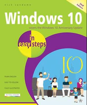 Bog, paperback Windows 10 in Easy Steps af Nick Vandome
