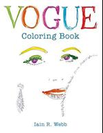 Vogue Adult Coloring Book