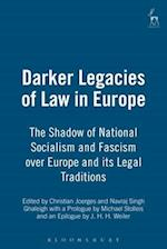 Darker Legacies of Law in Europe af Christian Joerges