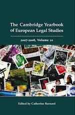 Cambridge Yearbook of European Legal Studies (Cambridge Yearbook Of European Legal Studies, nr. 10)